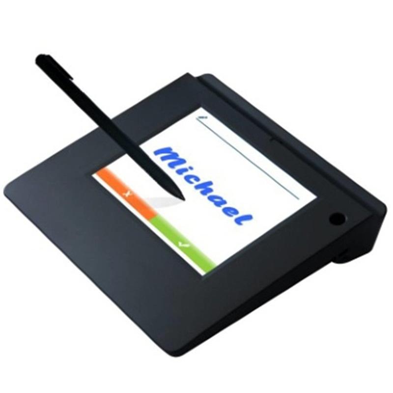 供应中性HT560U无纸签名5寸USB液晶签名板