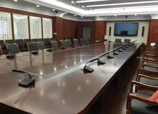 SHURE DIS6000数字会议系统落户最高人民法院