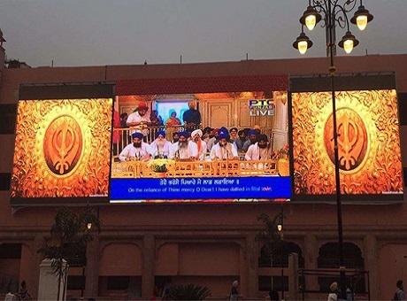 唯奥视讯携手RD LED公司打造印度最大户外LED屏