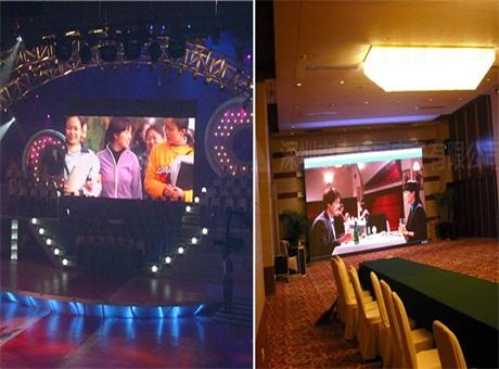 康硕展舞台LED显示屏方案