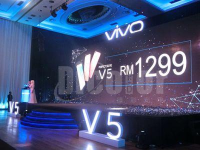 德彩光电LED显示屏项目马来西亚Vivo发布会