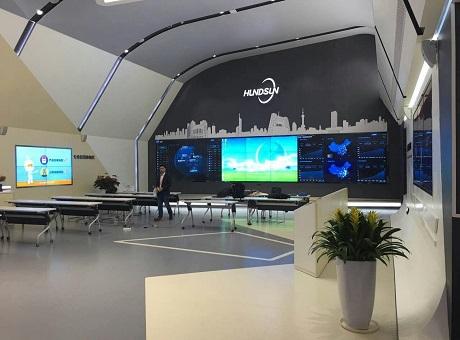 上海阳淳液晶拼接屏助力恒生电子会议室智能化升级