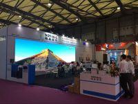 唯奥视讯LVP6094K处理器驱动LED显示大屏点亮上海展