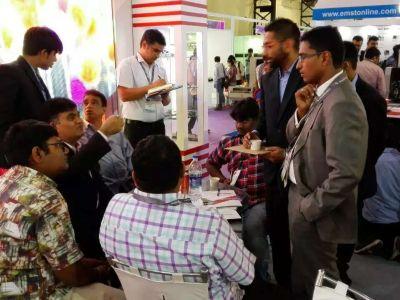 唯奥视讯亮相印度孟买LED展览会LED EXPO 2016