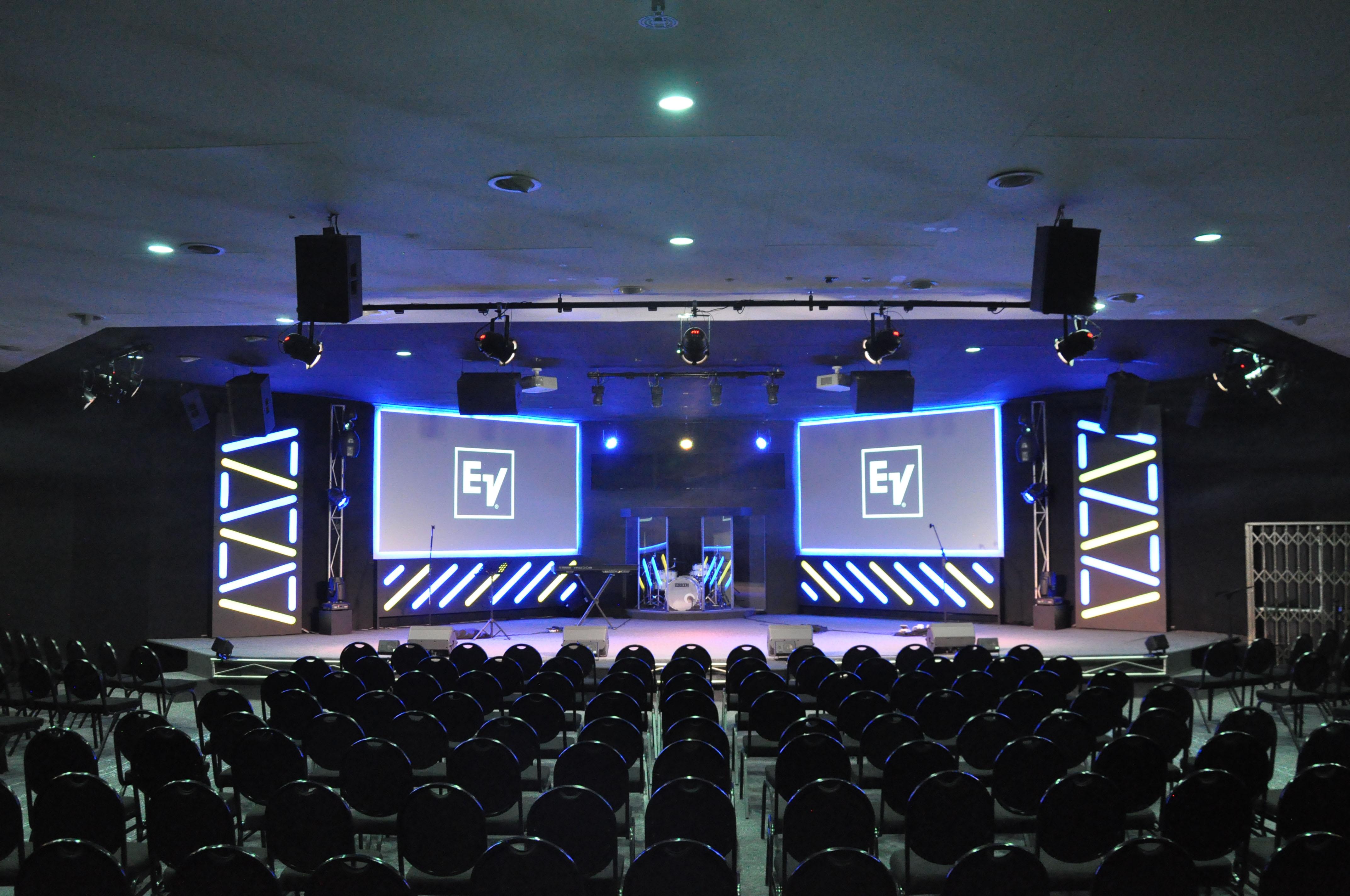 Electro-Voice 旗下ETX为南非布里奇教堂带来天籁之音