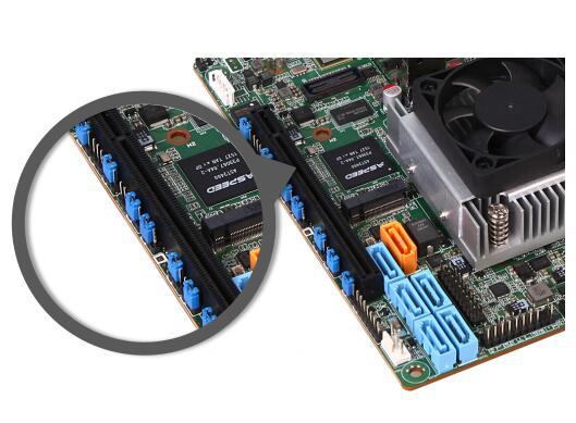 杰和发布低功耗Xeon-D服务器主板图片