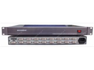 BEC-DVI0116-1進16出DVI分配器 16路DVI-D分配器 數字DVI分頻器