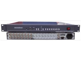 BEC-V1601-16进1出视频切换器 监控视频切换台 按键+RS232切换