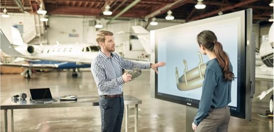 微软发售巨型平板Surface Hub