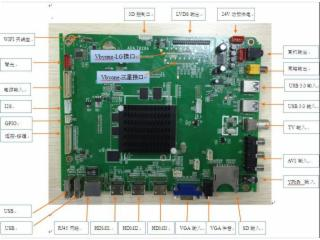 MSD6A828方案 智能4核4K液晶网络驱动板-ADA.T828A图片