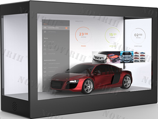 NVH220-22寸透明显示展柜