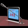華會通科技-15.6寸無紙化超薄轉軸發言一體升降會議終端-MT-9156ZF圖片