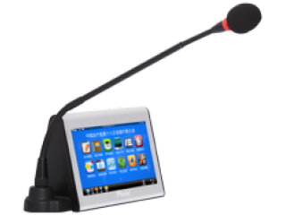 MT-6120EF-7寸發言型電容觸摸液晶電子桌牌(有線聯網型)