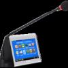 7寸发言型电容触摸液晶电子桌牌(有线联网型)-MT-6120EF图片