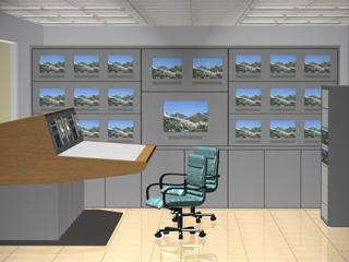 XH039型-电视墙