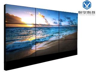 YH-SD490UB-悅華 49寸液晶拼接屏 超窄邊3.8MM監控顯示器拼接屏幕墻低亮面板