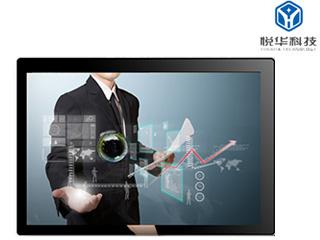 YH-201505-55寸壁挂式触摸一体机 高清大屏幕多媒体楼宇广告机 可定制