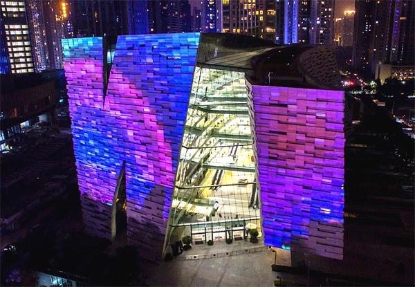 广州灯光节3D楼体投影作品《ILLUSION(幻象)》欣赏(杂志)