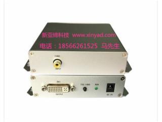 4987-CVBS(AV)轉DVI轉換器(DVI變頻輸出)