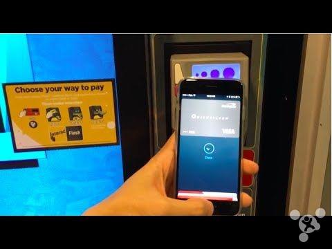 Apple Pay让自动售货机交易量增加图片