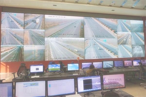 上海三思P1.56小间距LED监控屏落户河北省高速公路管理局创两项之最