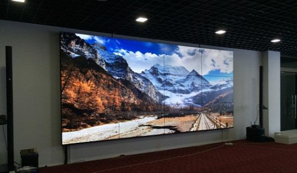 再接再厉:清投LCD液晶拼接进驻安徽某设计院