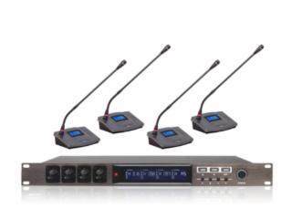 MC8414-博聆数字会议系统一拖四无线麦克风