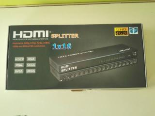 XHY-SP04-4Kx2K HDMI 分配器1分16 支持1.4版本3D
