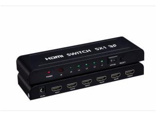 XHY-SW02-hdmi 切換器 5x1 支持3D 1080P