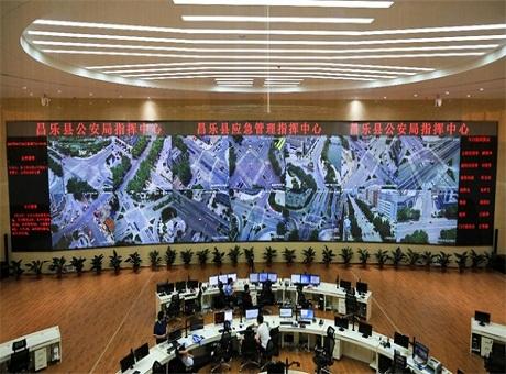 GQY:公安指挥中心超高分辨率大屏可视化应用解决方案