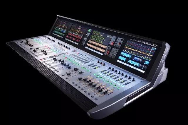 聚赏时刻 哈曼Soundcraft Vi3000数字调音台