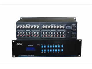 AV音視頻矩陣系列 8、16、24、32路|鄭州中控矩陣-XG圖片