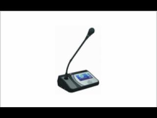 TS-0203-TS-0203 主席單元(帶表決IC卡簽到主席單元-4.3寸彩屏+電子桌牌)