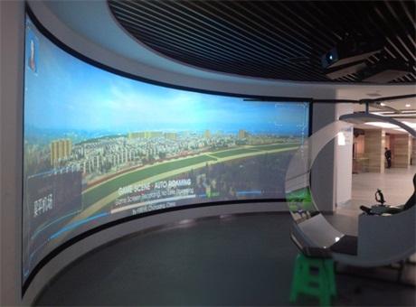 创凯CK4MX助力梁平规划展览馆 带你体验自驾直升机城市3D虚拟游