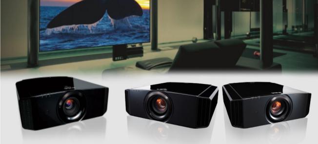 JVC推出D-ILA芯片家庭影院投影机图片