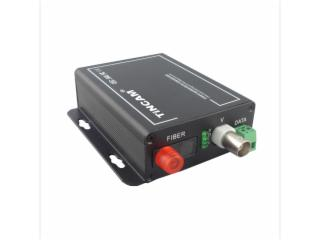 TW-SF1V1FD-S20T/R-天博1路視頻+1路反向RS485數據視頻光端機一對FC