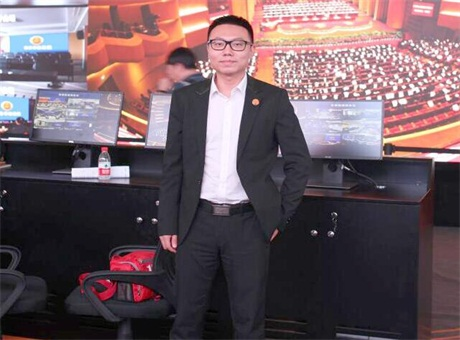 上海LED展:专访深圳市艾比森营销总监鲁文兵先生