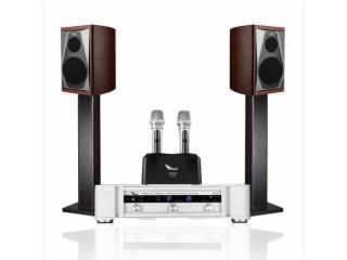 VS2.0-SISI音响家用KTV音箱专业功放唱歌点歌机家庭影院