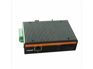 TW-GF2602-S20SCA/B-天博TINCAM 100M工業級一光一電光纖收發器