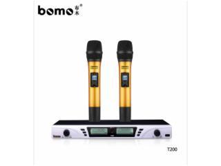 T200-bomo T200 無線麥克風 原裝廠家直銷/批發 KTV無線話筒