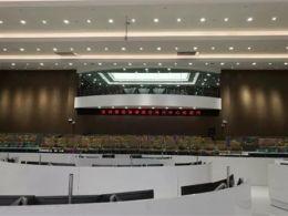 1亿像素,166.9平米!世界最清晰的弧形微间距LED屏落户中国深圳!