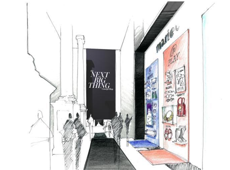 MARIE CLAIRE的全新概念体验店亮相纽约