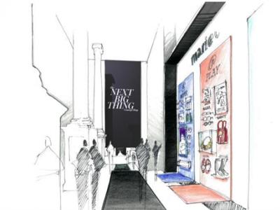 MARIE CLAIRE的概念体验店亮相纽约