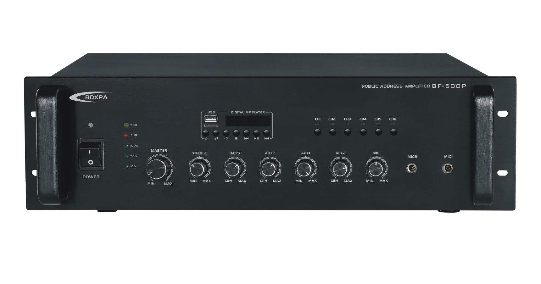 USB/收音机/遥控广播功放