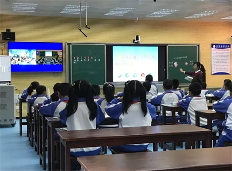 紫旭科技打造互动课堂 助推教育优质均衡发展