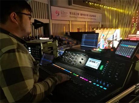 第三届海上丝绸之路国际艺术节开幕式——锐声音响 Midas M32数字调音台精彩呈现