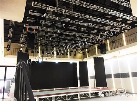德国SONIC-PRO音响成功助力吉林省白城市通榆电视台多功能演播大厅