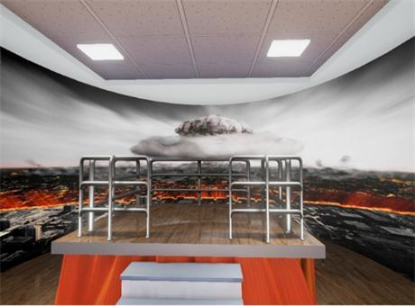 仁光科技国防教育智能交互展厅设计方案