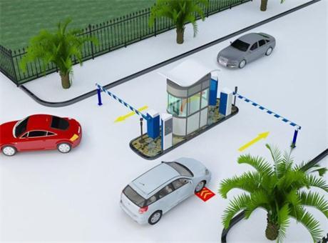 集光安防车牌识别系统之校园停车方案
