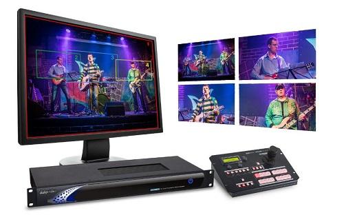 Datavideo洋铭KMU-100 4K转高清八机位影像处理器闪亮登场
